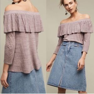 Anthropologie Dolan Charla Off The Shoulder Top XS
